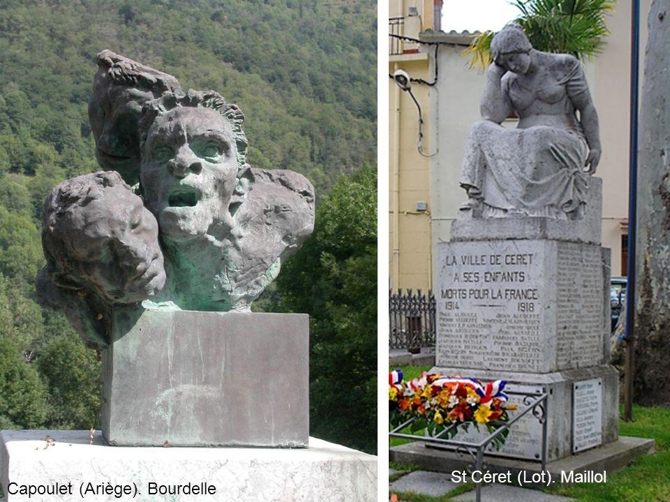 Capoulet (Ariège). Bourdelle