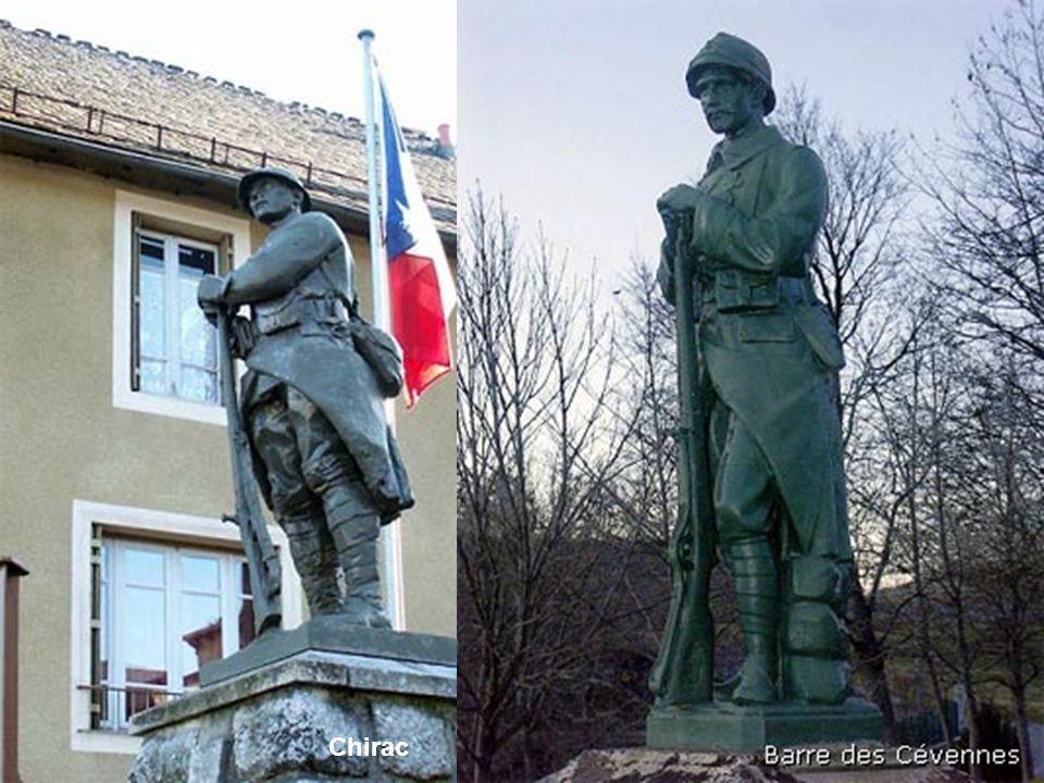 Ces deux exemples illustrent le type de monument au morts le plus courant, celui qui a fait dire « avec les monuments aux morts on a manqué une occasion de faire l'éducation artistique de la population ». (La suite prouve que cette boutade n'est pas exacte!).