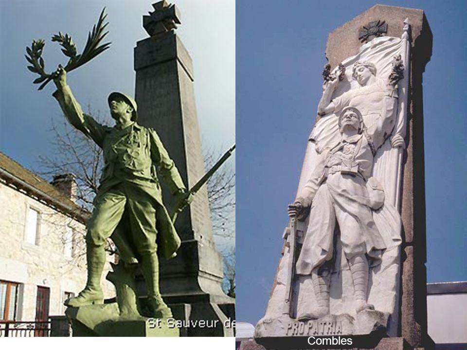 Type « soldat victorieux » dans les deux cas mais le matériau diffère: bronze à gauche, marbre (et bronze) à droite ainsi que le type de sculpture: ronde- bosse d'une part et haut relief de l'autre.