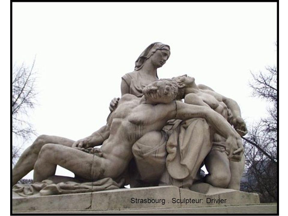 Strasbourg . Sculpteur: Drivier