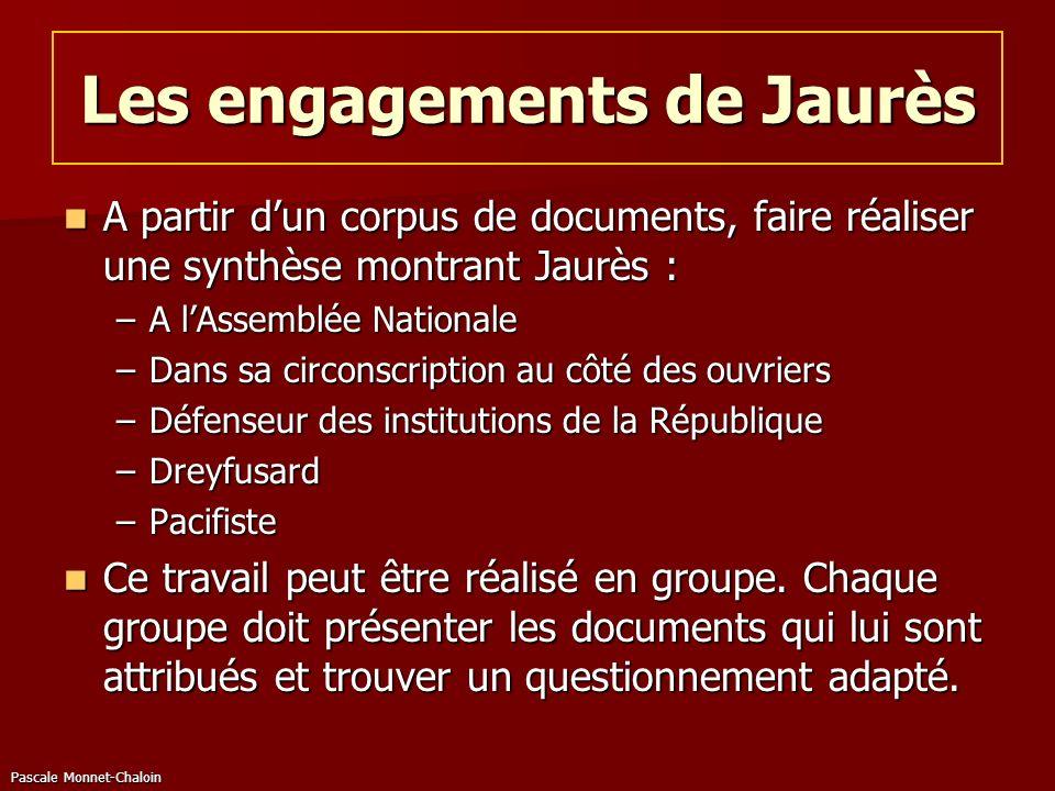 Les engagements de Jaurès