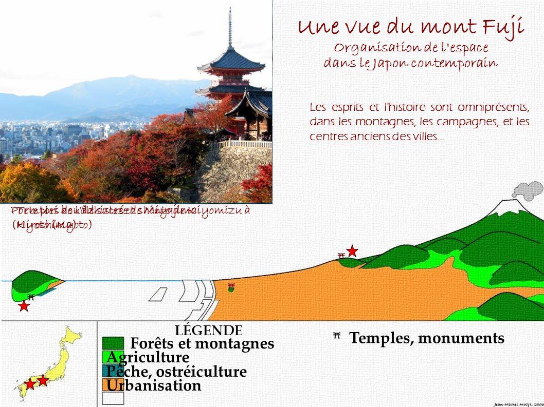 Les campagnes japonaises sont peuplées d esprits, les kamis