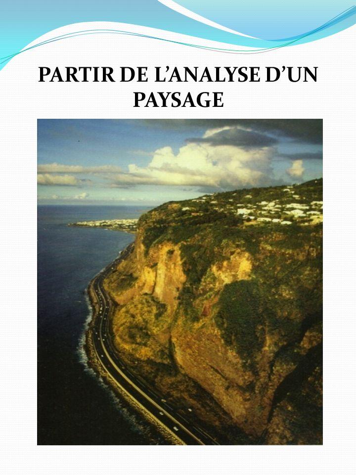 PARTIR DE L'ANALYSE D'UN PAYSAGE