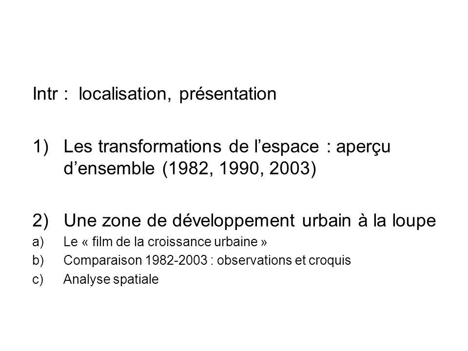 Intr : localisation, présentation