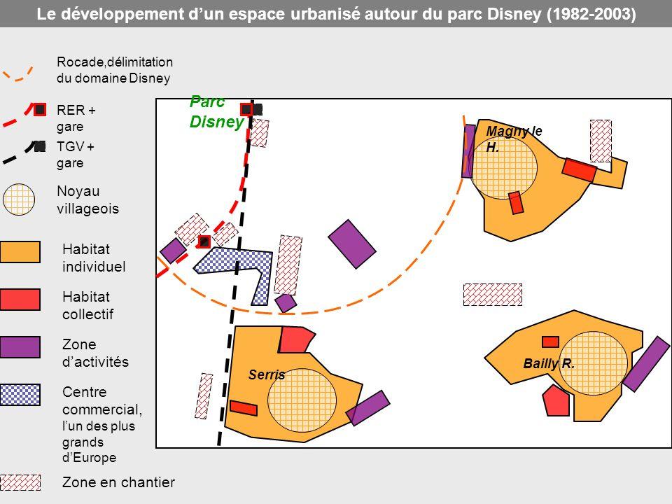 Le développement d'un espace urbanisé autour du parc Disney (1982-2003)