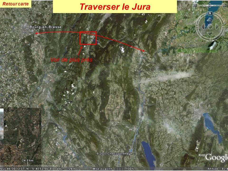 Retour carte Traverser le Jura Voir de plus près