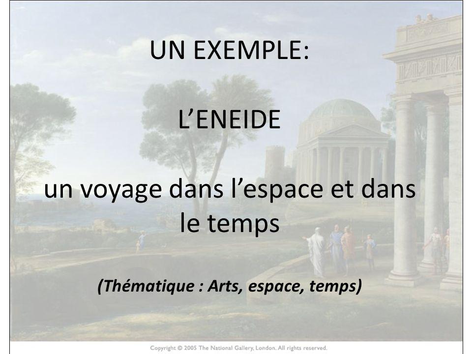 (Thématique : Arts, espace, temps)