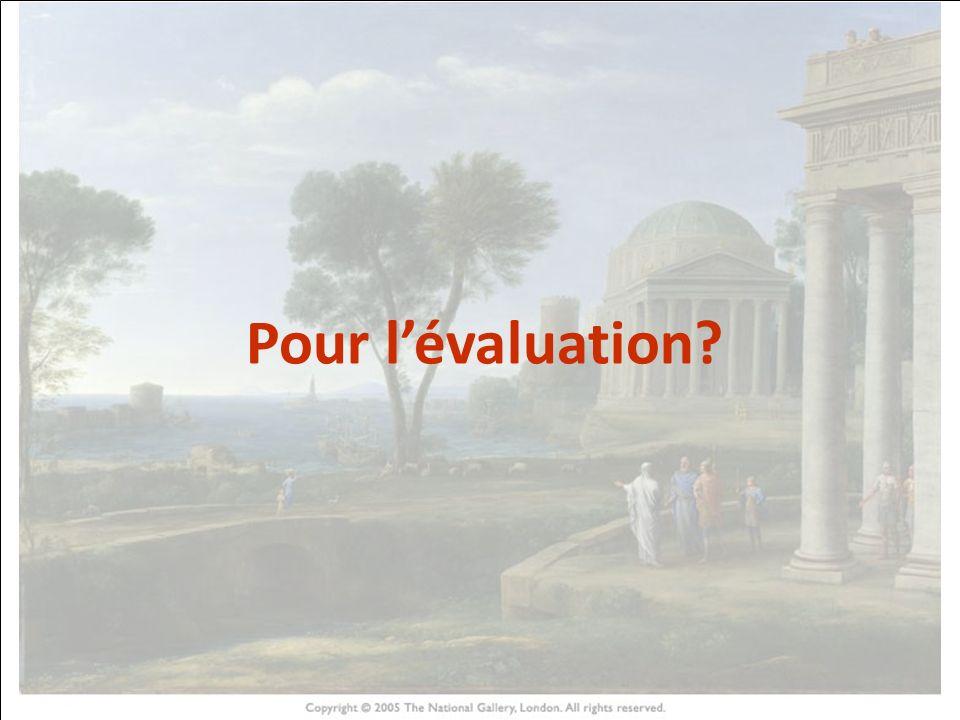 HISTOIRE DES ARTS Pour l'évaluation 22