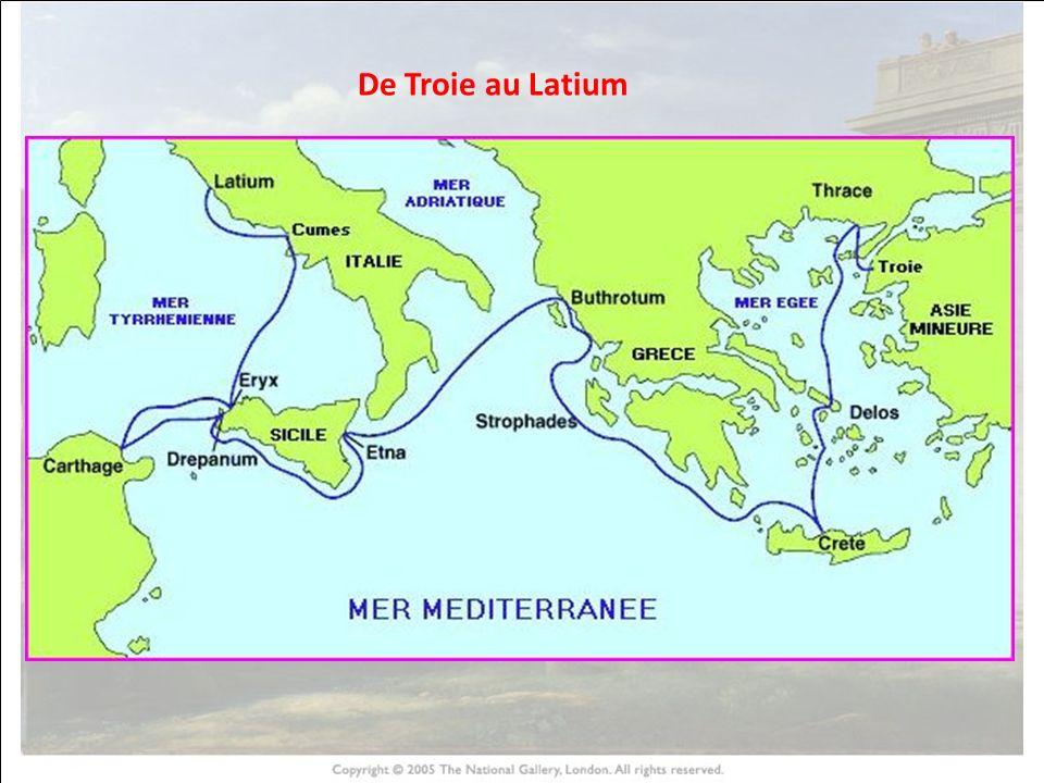 De Troie au Latium HISTOIRE DES ARTS 9