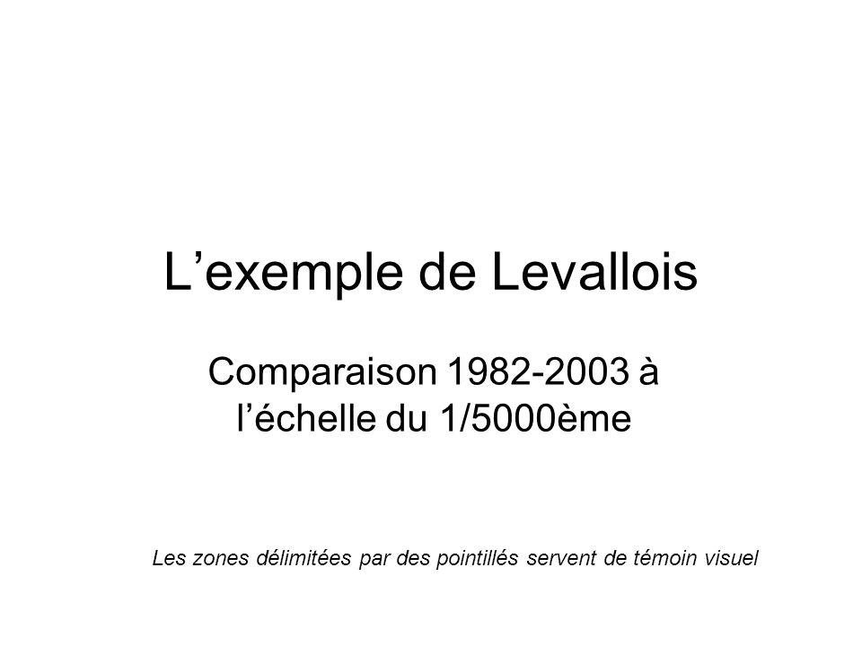 L'exemple de Levallois