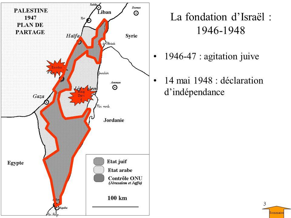 La fondation d'Israël : 1946-1948