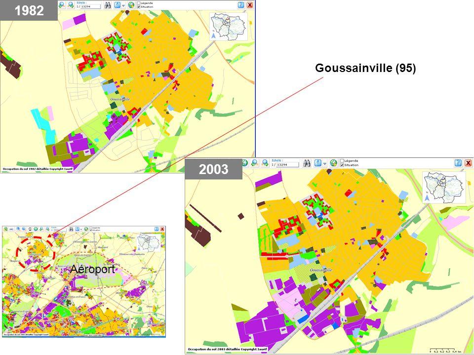 1982 Goussainville (95) 2003 Aéroport