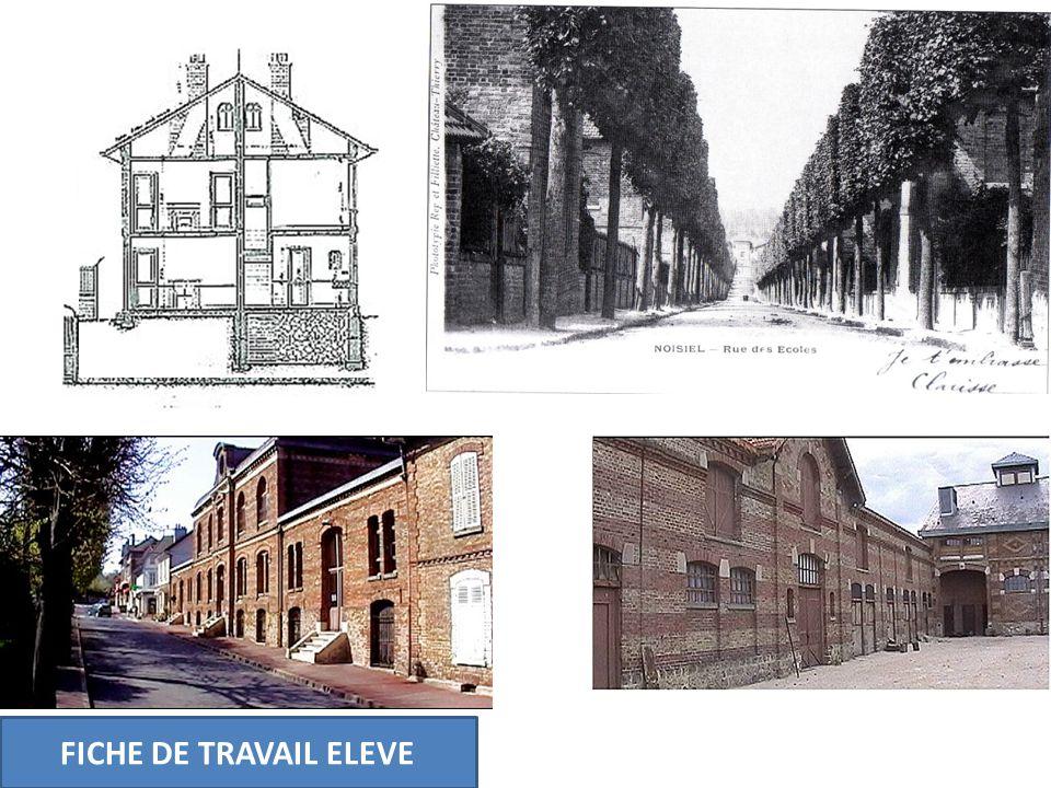 FICHE DE TRAVAIL ELEVE Séance 4