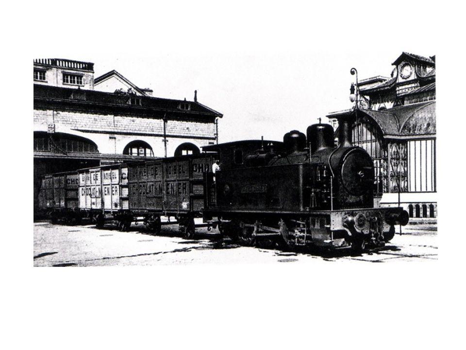 à partir du travail réalisé en séance 2 : comment l'association de la sidérurgie et de la vapeur permettent-ils d'accélérer le transport des marchandises dans l'usine Menier