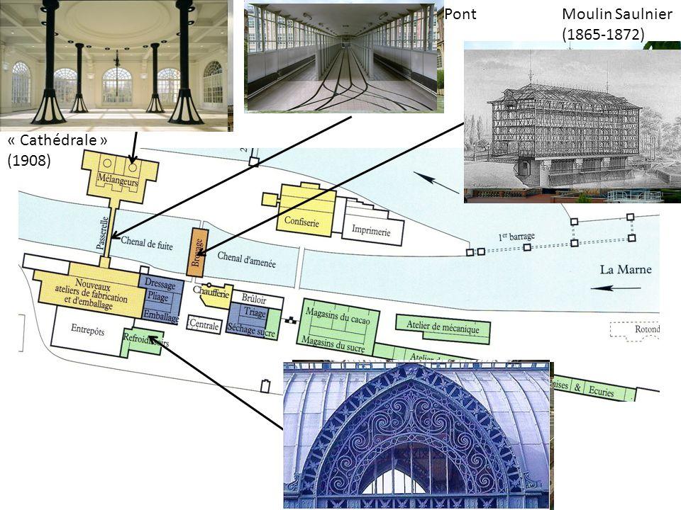 « Cathédrale » (1908) Pont Moulin Saulnier (1865-1872)