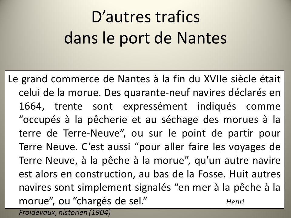 D'autres trafics dans le port de Nantes