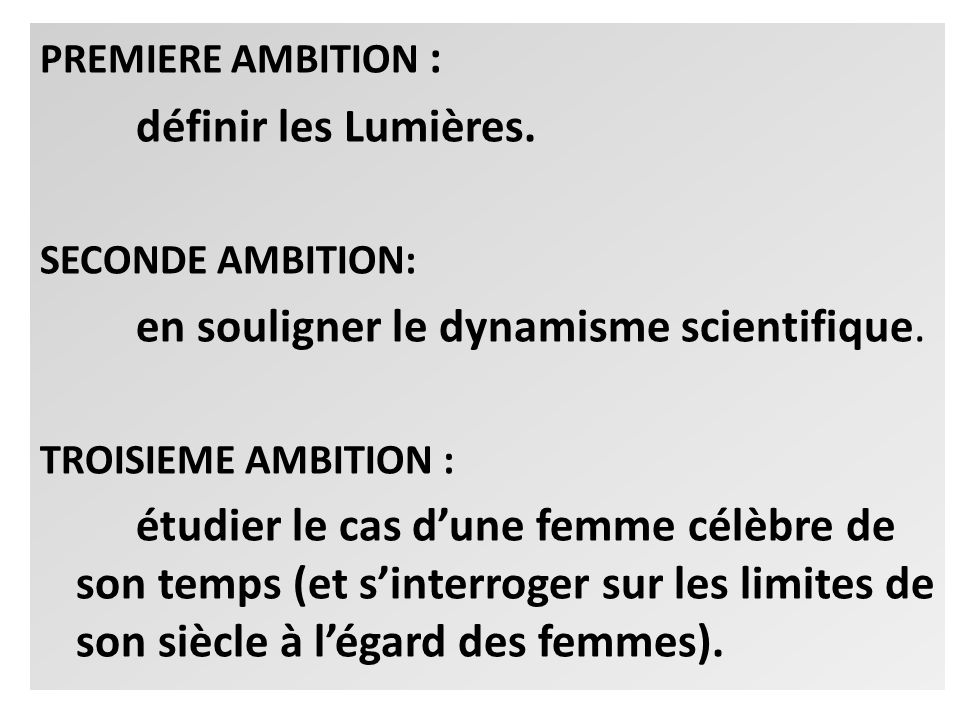en souligner le dynamisme scientifique.