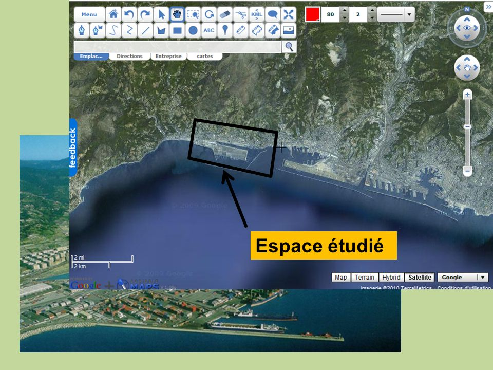 Le port de Voltri, à l'Ouest de Gênes