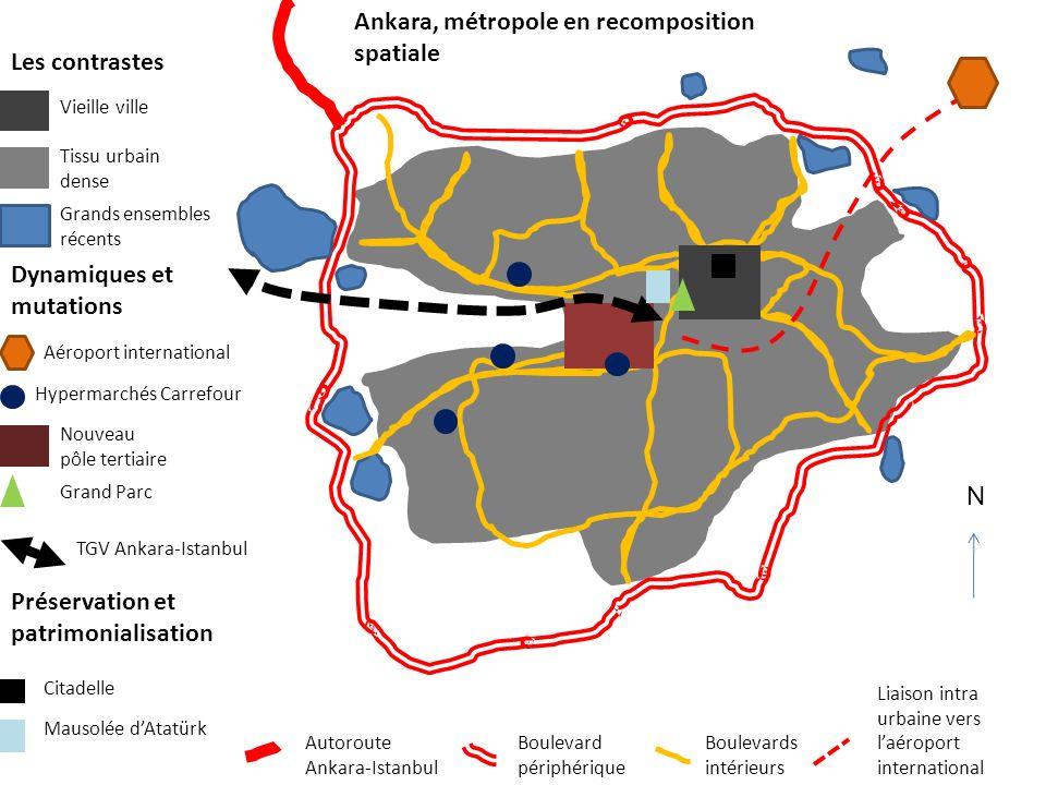 Ankara, métropole en recomposition spatiale