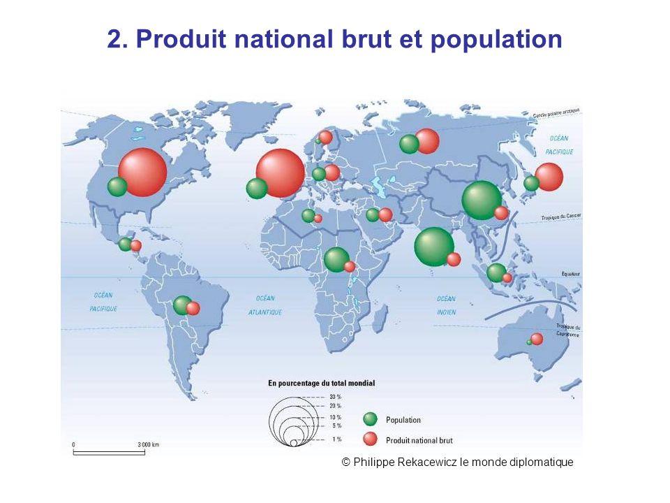 2. Produit national brut et population