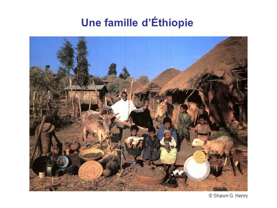 Une famille d'Éthiopie