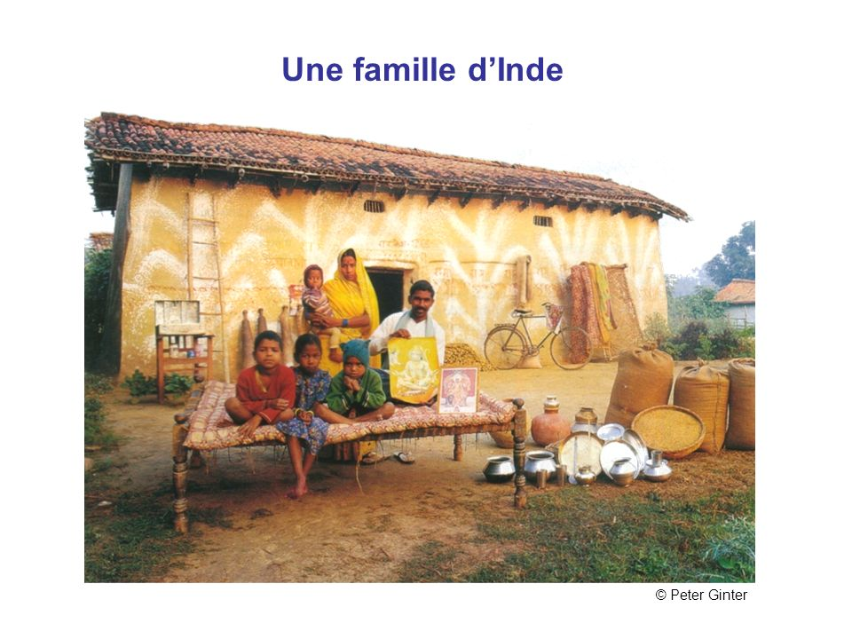 Une famille d'Inde © Peter Ginter Inde
