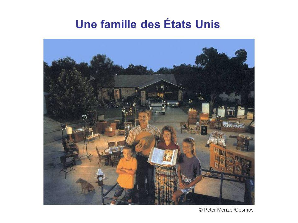 Une famille des États Unis
