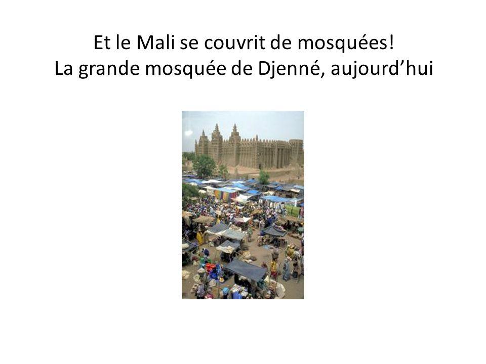 Et le Mali se couvrit de mosquées