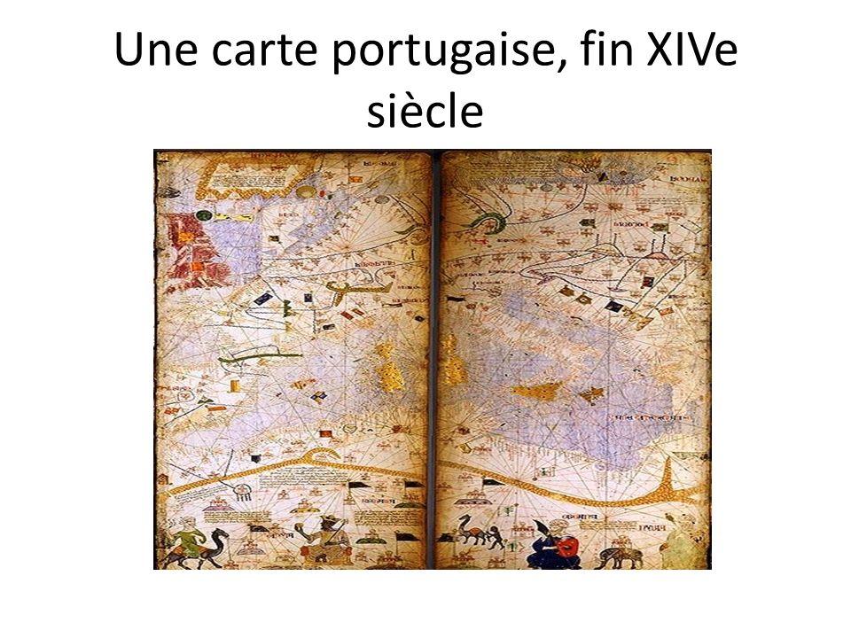 Une carte portugaise, fin XIVe siècle