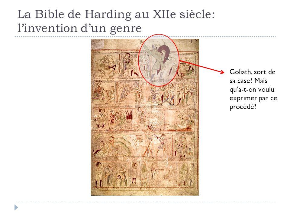 La Bible de Harding au XIIe siècle: l'invention d'un genre