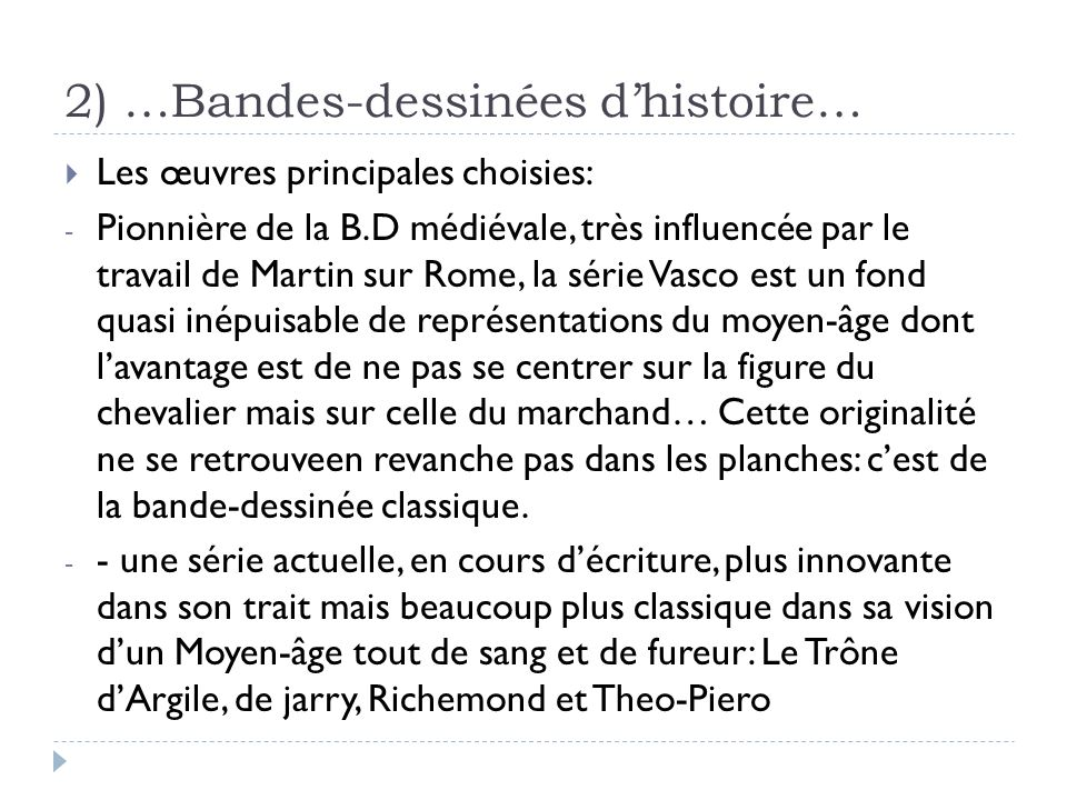 2) …Bandes-dessinées d'histoire…