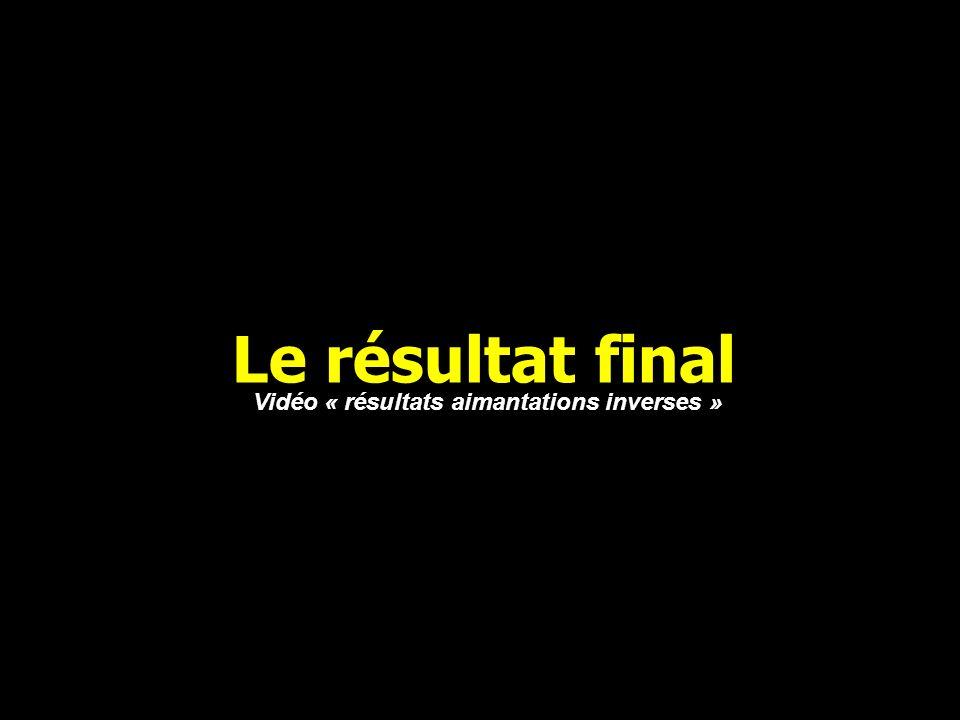 Vidéo « résultats aimantations inverses »