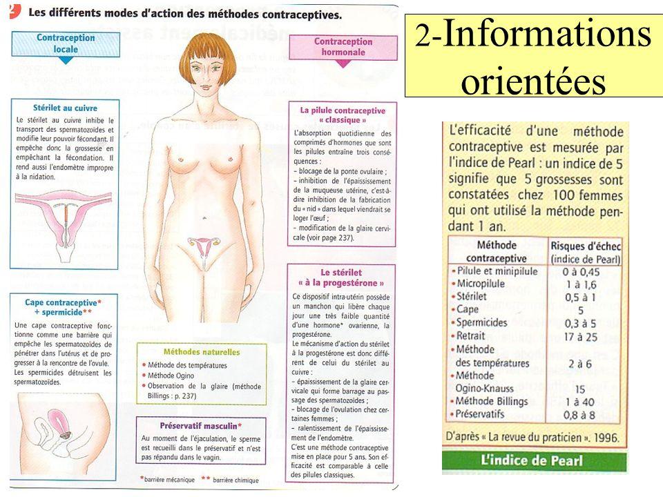 2-Informations orientées