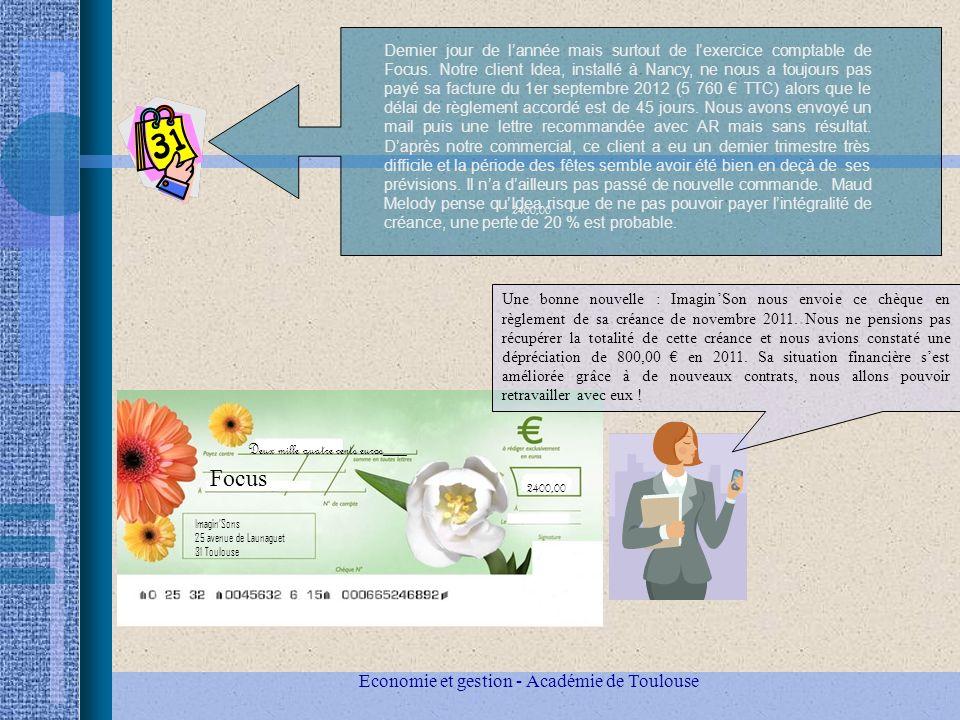 Economie et gestion - Académie de Toulouse