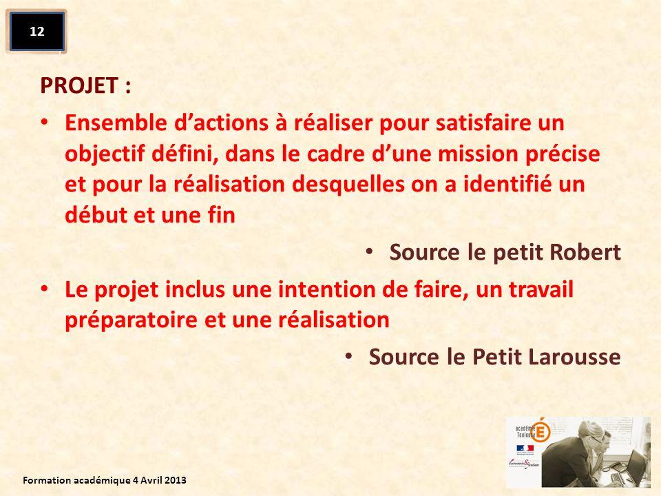 Source le Petit Larousse