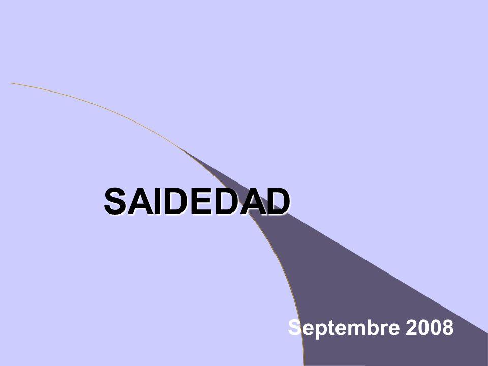 SAIDEDAD Septembre 2008