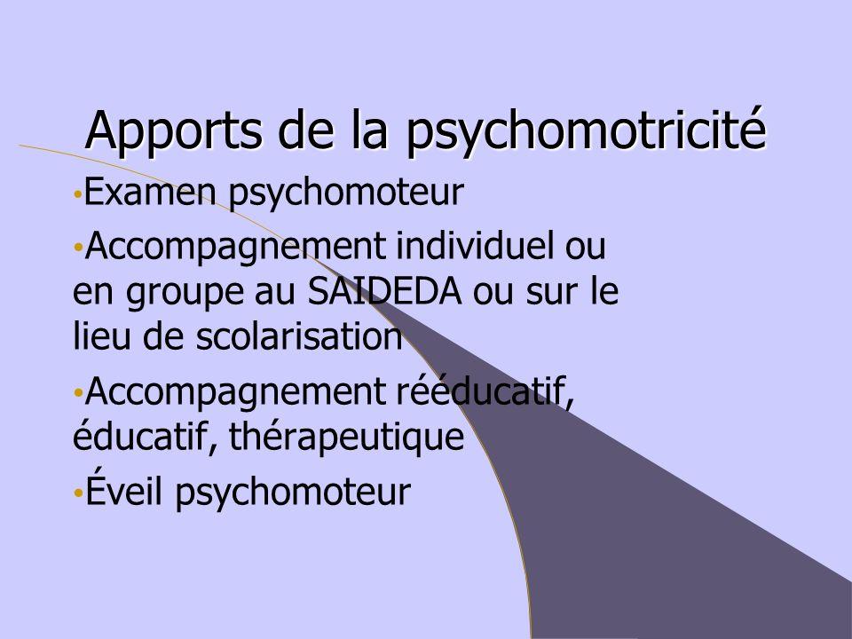 Apports de la psychomotricité