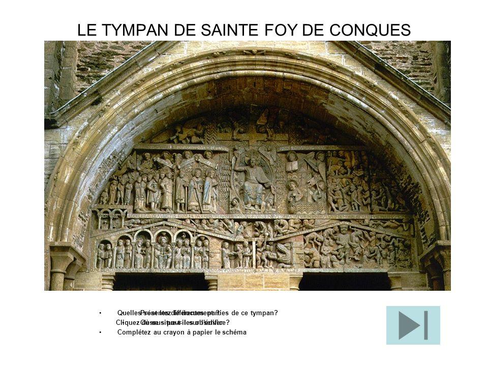 LE TYMPAN DE SAINTE FOY DE CONQUES