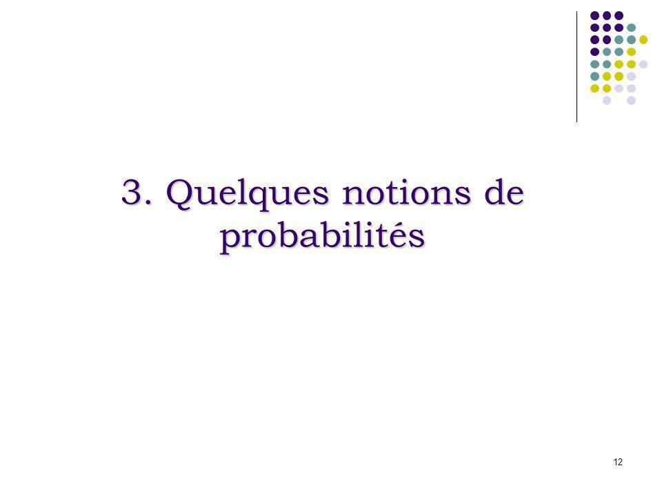 3. Quelques notions de probabilités