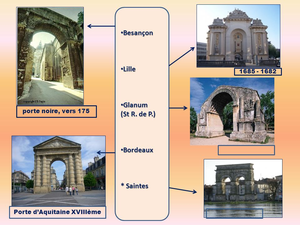 Porte d'Aquitaine XVIIIème