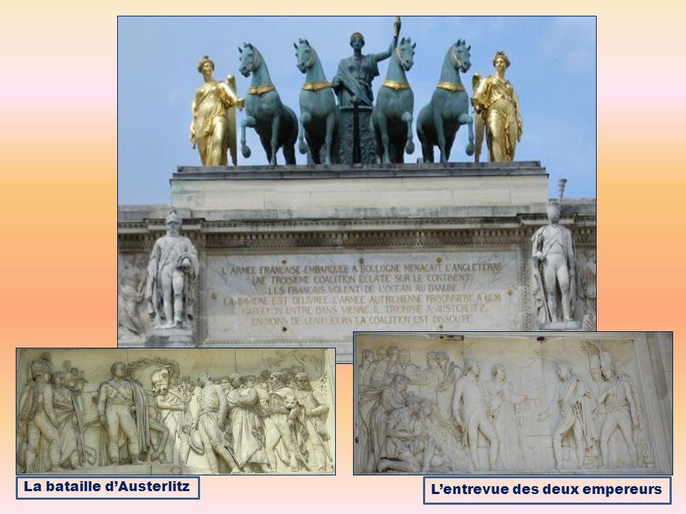 La bataille d'Austerlitz L'entrevue des deux empereurs
