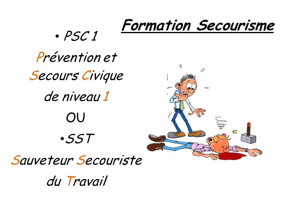 Prévention et Secours Civique