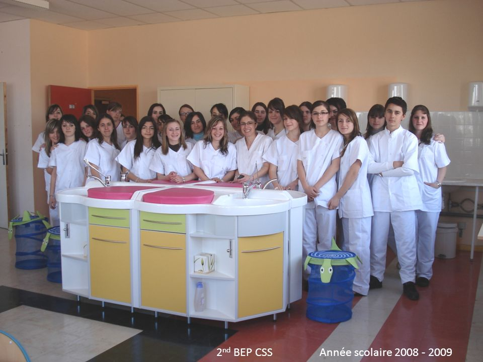 2nd BEP CSS Année scolaire 2008 - 2009