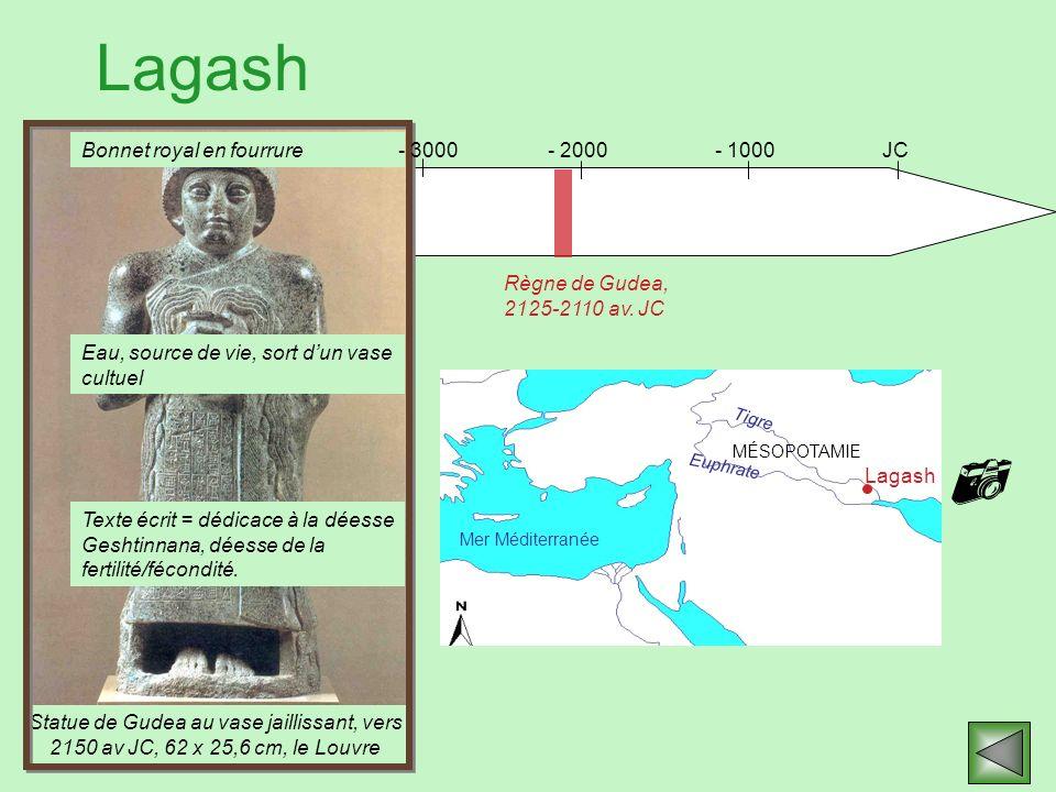  Lagash Bonnet royal en fourrure - 3000 - 2000 - 1000 JC