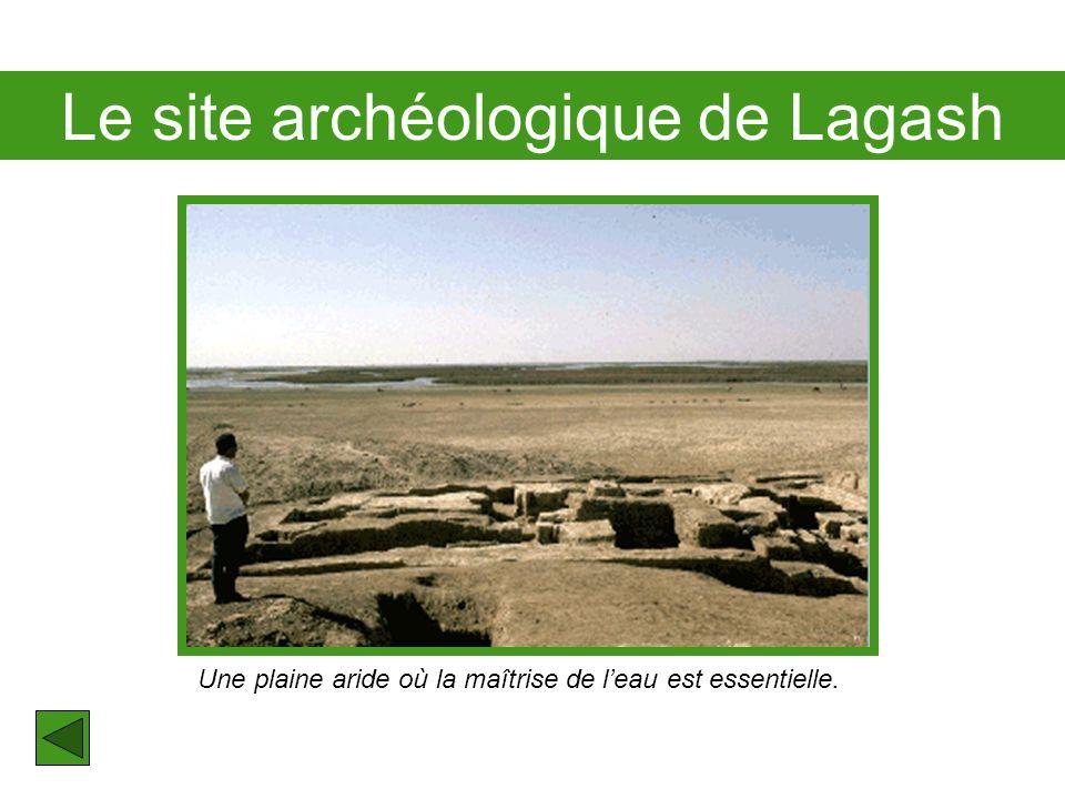 Le site archéologique de Lagash