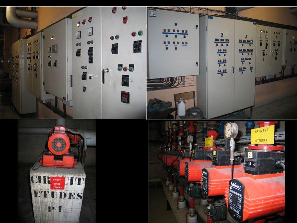 Toute celle-ci est dirigé par des commandes électriques.