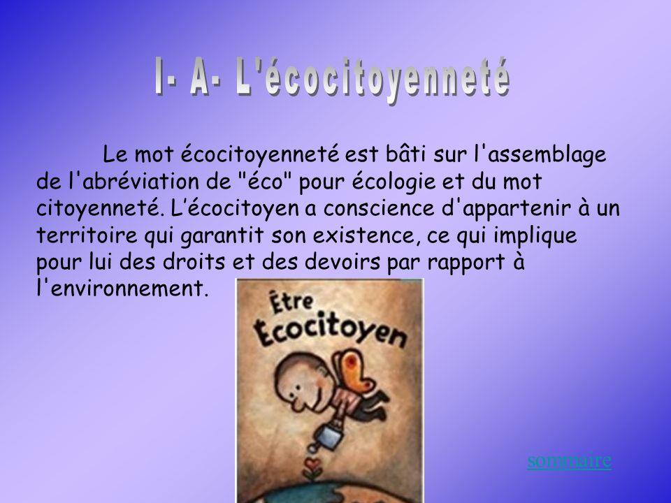 I- A- L écocitoyenneté