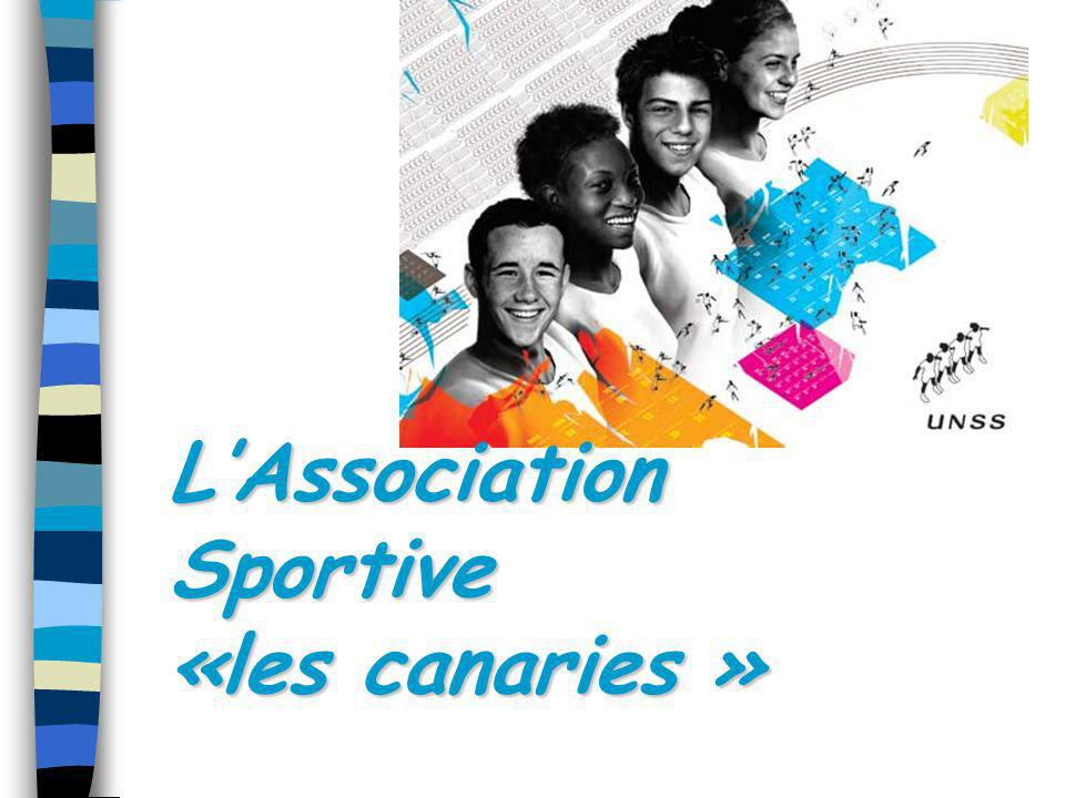 L'Association Sportive «les canaries »
