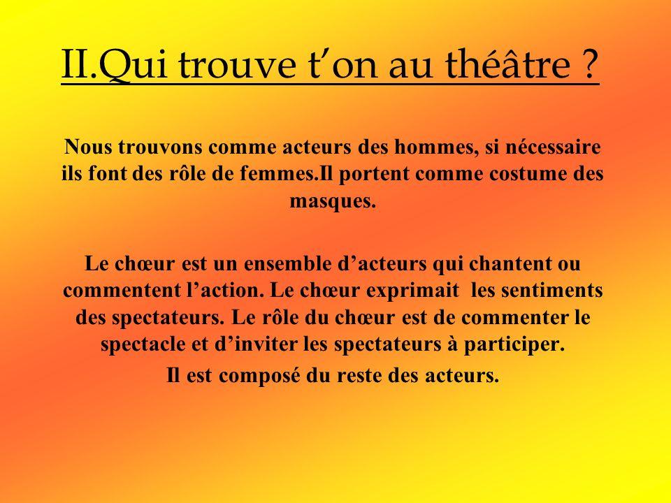 Le theatre dans la grece antique ppt video online - Homme et femme qui font l amour au lit ...