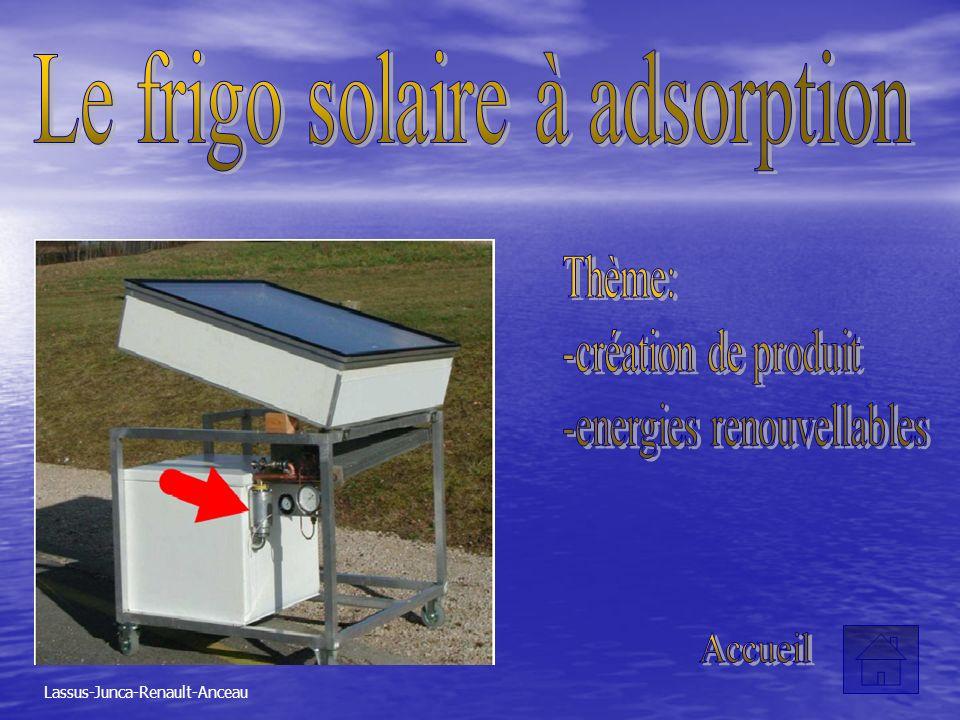Le frigo solaire à adsorption